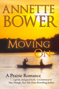 Cover for the re-release of Moving On, A Prairie Romance