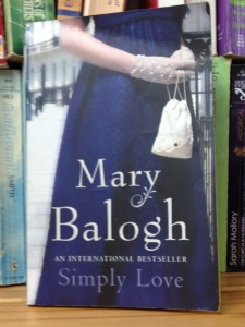 One of my favorite authors, Mary Balogh.