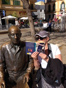 Telling Picasso all about Simply Love.
