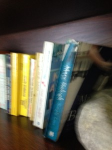 Simply Love on the English book shelf for other readers to enjoy.